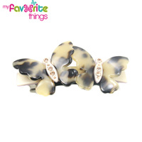 New Designer Fashion Acetate Butterfly Hair Clip hairpins Jewelry Accessories For Women Wholesale Girl Hairpins Free Shipping