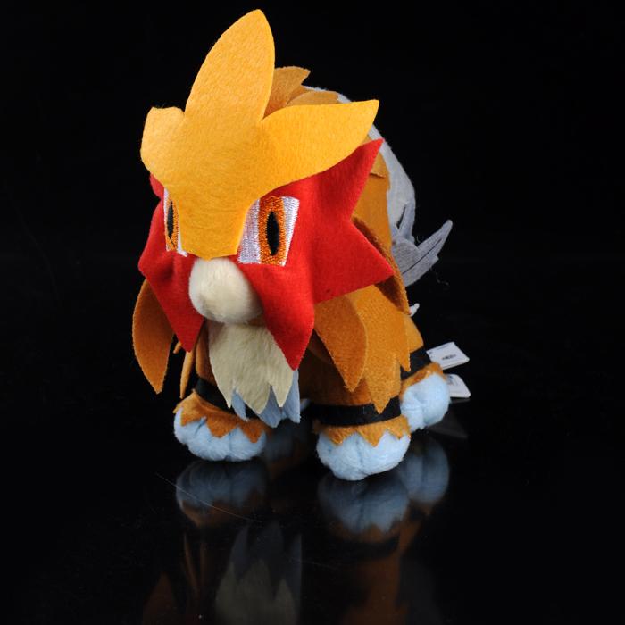 """7"""" Pokemon Anime Entei Soft Toy Doll Plush(China (Mainland))"""