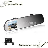 Manufacturer, H.264 G-sensor Gps HD720P Dual Lens Camera For Cars car dvr camera car reverse camera