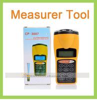 Handheld Ultrasonic Tape Measure Distance  Area Volum Meter Laser Designator LCD Digital Laser Pointer Digital Measurer Tool