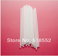 "1000PCS 6"" White Plastic Lollipop Sticks Sucker For Lollipop Lolly Chocolate Cake Candy (Free shipping China Post Air Mail) H112"
