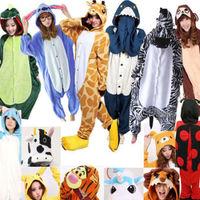 New Animal Cosplay Unisex Kigurumi Pajamas Adult Costumes Onesies Pyjamas Sleepw