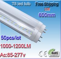 50pcs/lot SMD 4014 T8 Led Tube 600mm 10 Watt Liyang De Led AC 110V 220V 230V 240V Led Tubolari CE ROHS PSE Certified