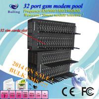Bulk sms 32 Ports Wavecom Q24plus GSM/GPRS Modem Pool USB Interface quad-band 850/900/1800/1900MHz