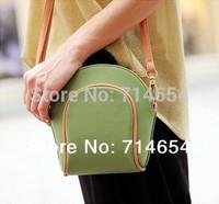 2014 New Fashion Women Messenger bag Cute Shoulder messenger Korean style bags for women high quality 4 colors