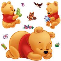 Winnie The Pooh Cartoon Sticker Creative Partner Portfolio Stickers 287