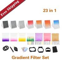23 in 1 Camera Gradient Filter ND2 4 8 Gray Filters Camera Filter Set