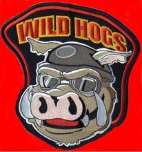 Диких свиней 5 шт./лот вышитые мото жилет железа на заплате вернуться из куртка аппликация 10 * 10 см Peppa Pig L601(China (Mainland))