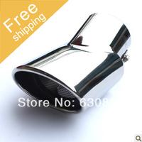 Free shipping, 2009 2010 2011 2012 2013 Hyundai ix35 throat exhaust muffler exhaust muffler modified