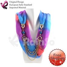 pendant necklace scarf reviews