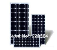 high efficiency 100W Mono solar panel for home system and street light
