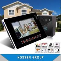 """KEEDOX@ 9"""" Wired Intercom Video Doorphone Door intercom  Color LCD support 32G SD card"""