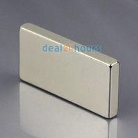 1PCS N50 Bulk Super Strong Block Cuboid Magnets Rare Earth Neodymium 40 x 20 x 5 mm Free Shipping
