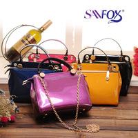 Women's Trend Spring PU Horizontal Bags Square Messenger Bag Designer Handbag