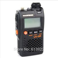 Black BaoFeng UV-3R Mark II 136-174/400-470MHZ Dual Frequency Display Two-Way Radio