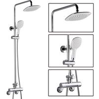 Shower faucet copper down shower thermostatic shower big shower set
