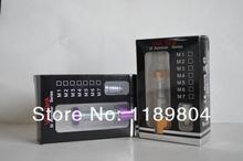 Vaporizer wax pen e cigarette vapor pen for wax pen wax vaporizer m1 atomizer with LED
