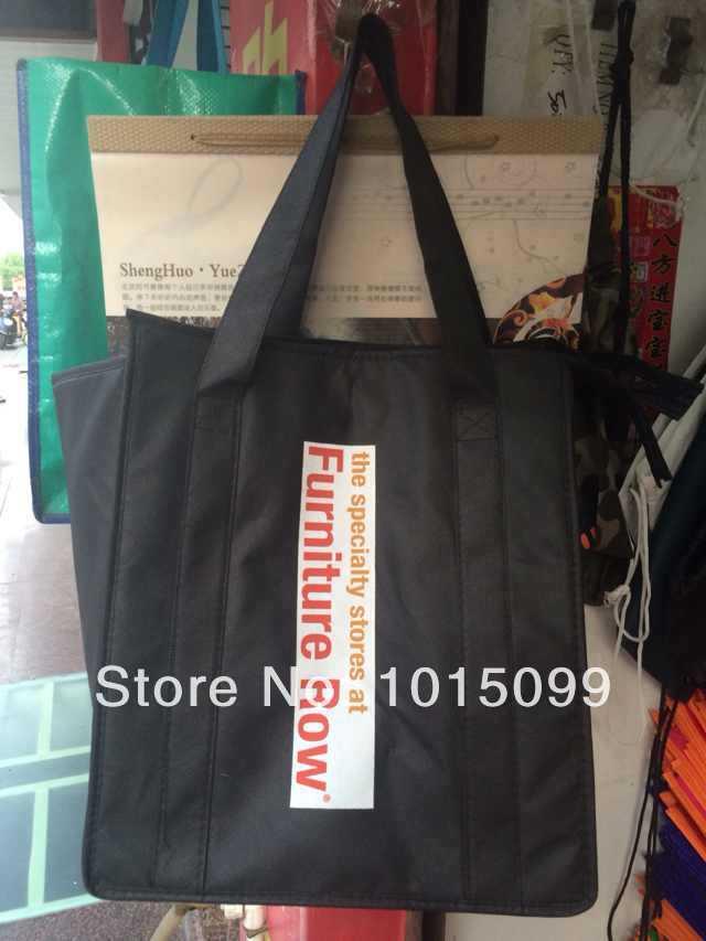 GRÁTIS SHIPPING2014 venda HOT Almoço Thermo Duplas saco para o saco de Verão Ice cooler grande pacote de refeição almoço armazenamento a frio take-away(China (Mainland))