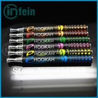 Free shipping 2pcs/lot Best sell e hookah pen disposable e cigarette e shisha colorful e hookah in stock (2* e hookah)