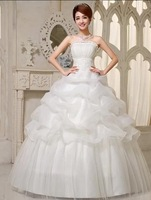 Free Shipping 2014 New Arrival Bridal Wedding Dress,Wedding Gown W0017