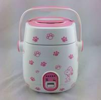 Domestic Korean Mini rice cooker 1.2 liters of mechanical Mini rice cooker non-stick cookware mini electric rice cooker