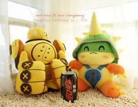 Free shipping  2014 HOT!    35*32*17cm lol Rammus Armordillo ETHAFOAM  Plush Toys and Dolls