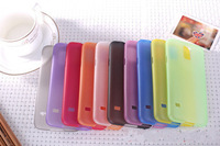 Hot Color 0.3MM ultrathin frosted shell i9600 phone shell protective sleeve S5 sets