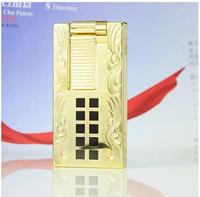 dupont broke into Dupont lighters lighters slim 24K gold plated purchasing D022