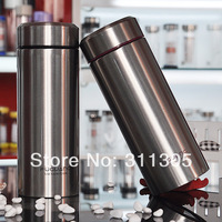 400ml double wall stainless steel vacuum water bottles,0.40L vacuum stainless steel bottles,Keep warm and cold,Great gift