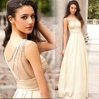 2014 summer asymmetric sexy women long dress beading strapless dress free shipping