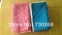 Wholesale 50X60cm 400gsm Microfiber Towel Microfibre Car Cleaning Detailing Fabric Absorbent Dry Cloth Dust Rags Floor Cloth