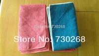 Wholesale 50X60cm 400gsm Microfiber towel floor cloth Micro Fibre Cleaning Cloth Funiture Glass Dust Rag