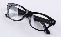 Plain mirror preppy style black-rimmed glasses 9258 8  10pcs
