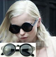 Vintage sunglasses round box sunglasses 7001 11  10pcs