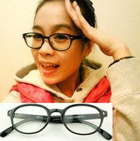 Rhombus rivet plain mirror non-mainstream glasses 5183 8  10pcs
