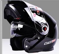 Free shipping New helmet LS2 ff370 motocross helmet motorcycle LS2 helmet double lens ff370 latest version have bag 100% Genuine