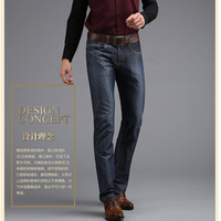 Free shipping 2014 Hot Sale High Quality Men's Jeans Famous Brand Jeans Men Jeans Straight Jeans Large Size 28-36