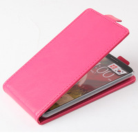 Protective Case for LG G2 1PCS Free Shipping Double bottom leather black white red pu leather case pouch cover for LG G2