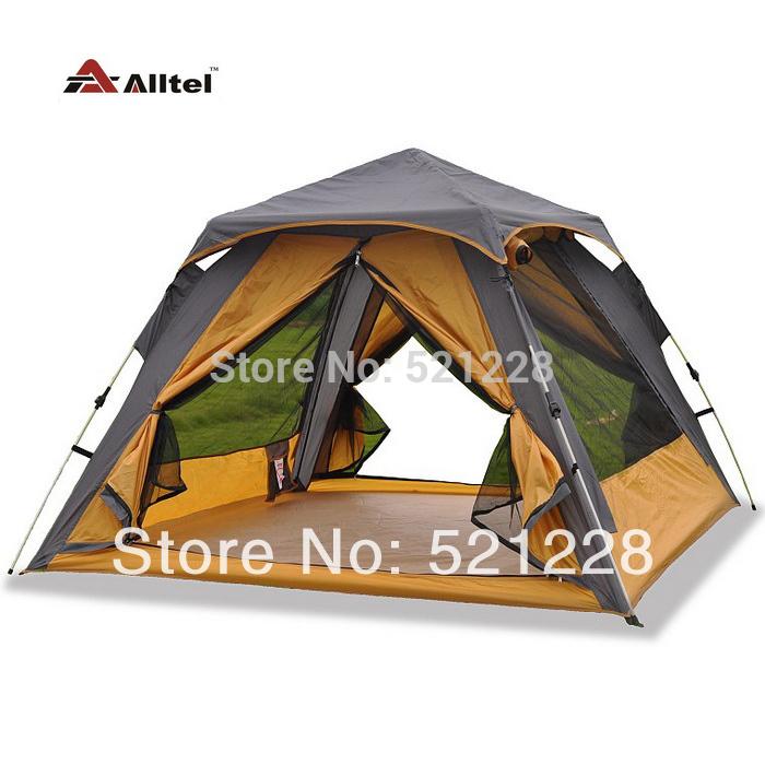 Туристическая палатка Altel Alltel 3/4 , T038 палатка туристическая husky bizon 3 classic цвет зеленый