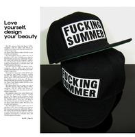 Hot New FUCKING SUMMER Snapback Hats Hip-Hop adjustable bboy Baseball Cap hat