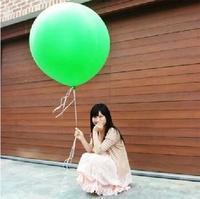 Medium-large 36inch big balloon blastoff balloon Large circle day gift transparent balloon 25g