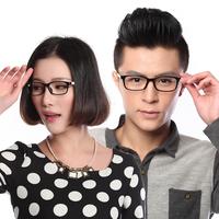 Glasses frame myopia glasses male Women big box eyeglasses frame glasses tungsten carbon ultra-light frame lens