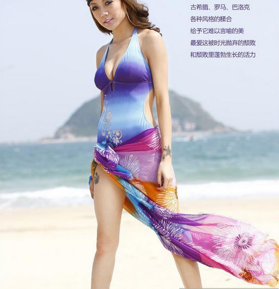 Towel Dress Girl Towel / Bra Beach Dress