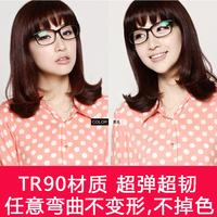 Glasses frame myopia glasses Women eyeglasses frame tr90 ultra-light eyes box big box lens