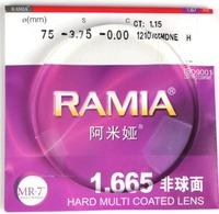 Scleromeninx 1.67 nano waterproof aspheric resin lens myopia plain