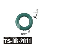 PAM free shipping 500pcs fuel injector o ring kit For Injector TS-2011