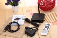 1 LOT 5 PCS U12-2A Smart TV box Allwinner A20 Dual core Android 4.2 1G RAM 8G ROM with Microphone and 2M camera