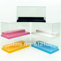 Dedicated Small Scenes, Hand-Done, Transparent Display Box, Anti-Dust Boxes, Color Random