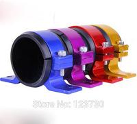 Free shipping Aluminum Single Fuel Pump Bracket / Fuel Filter Bracket 60 MM FOR Bosch / WALBRO BRACKET