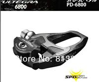 Original!Road BIke PD - 6800 ULTEGRA Carbon Fiber Pedals Highway Self-locking Pedal Cycling Pedal.Fit For Ultegra 6800/5800